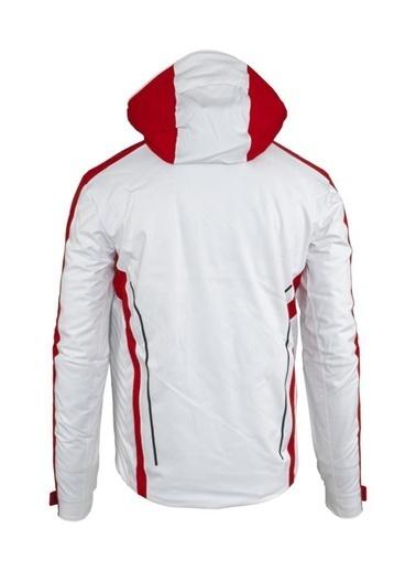 Panthzer  Colt Pro Erkek Kayak Mont Kırmızı/Beyaz Beyaz